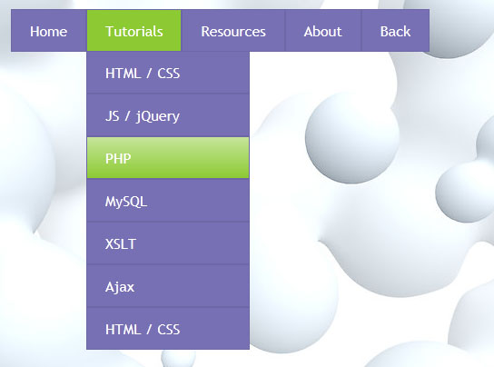 css3 menu4