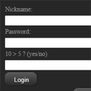 Advance Level Login system with Logic captcha
