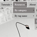 click action multilevel css3 dropdown menu