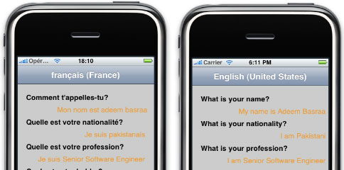 Localizing your iPhone application