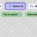 Pure CSS3 animated buttons