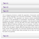 Pure CSS3 Accordion