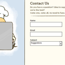 10 Creative Contact Form Designs