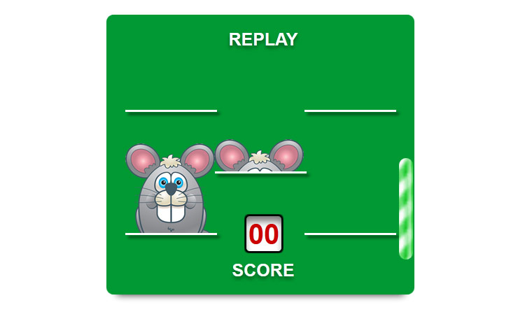Whack-a-Rat - CSS only game