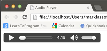 Chrome Audio Player