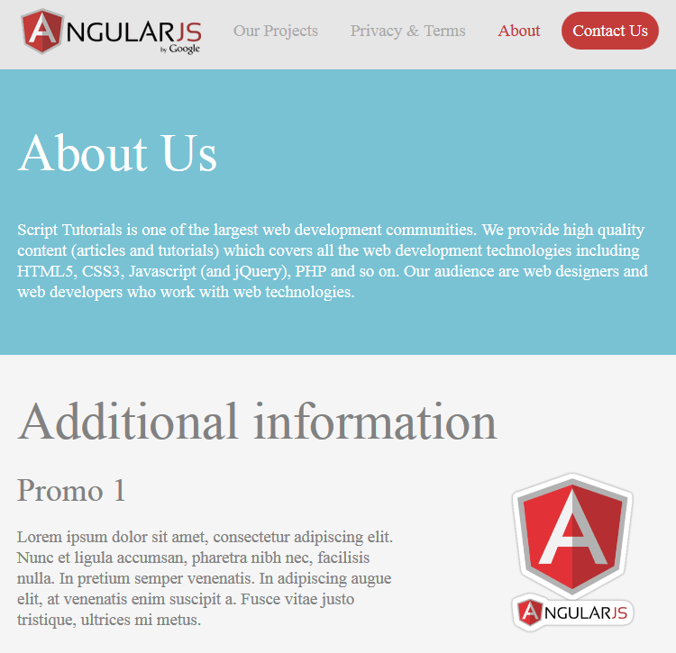 Tutorial: How to Create a Responsive Website with AngularJS - DZone