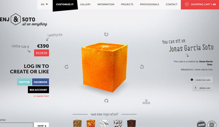 Create and customize your own cube