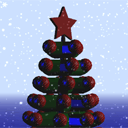 Christmas tree with three.js