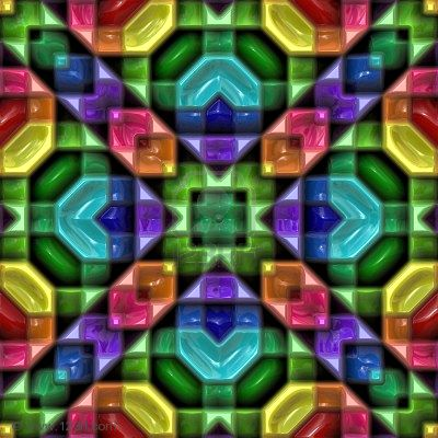 kaleidoscope pattern 1
