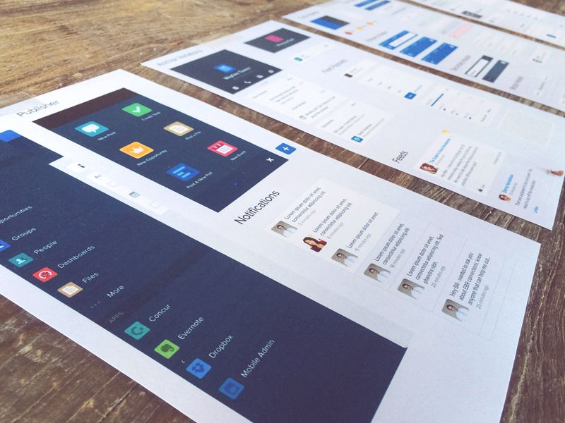 Salesforce1 UI Kit by Salesforce UX