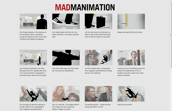 Madmanimation demo in Firefox