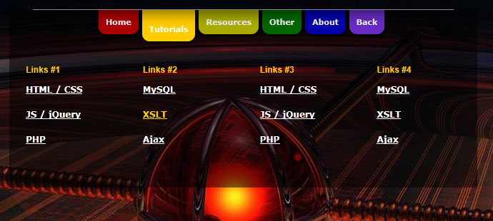 css3 menu3