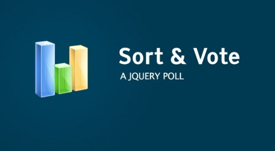 Sort and Vote jquery Poll