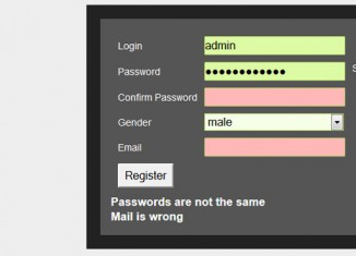Form Validation with Javascript and PHP