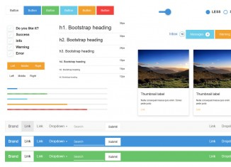 Material design for Bootstrap 3