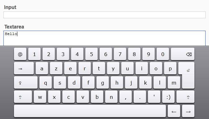 jQuery.keyboard
