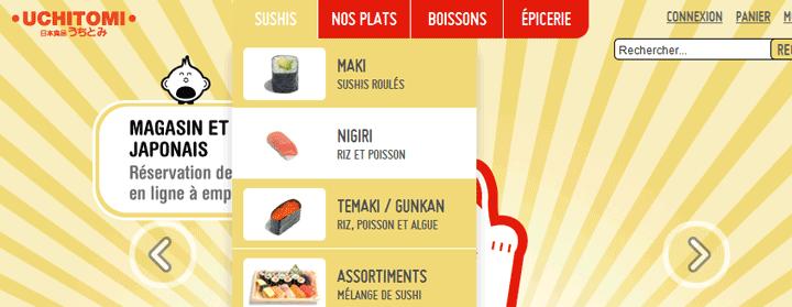 Uchitomi - Sushis