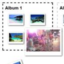 HTML5 Drag and Drop - sorting photos between albums