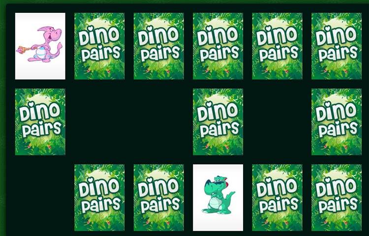 Dino Pairs Game