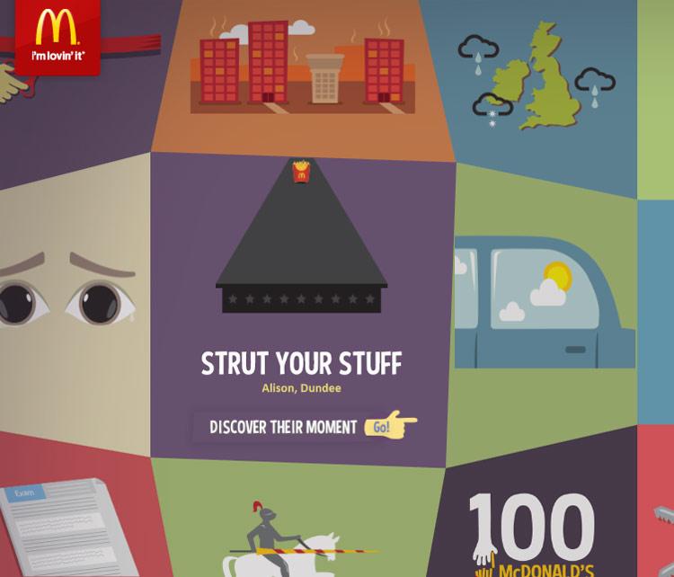 McDonald's 100 Moments