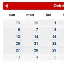 PHP AJAX Calendar
