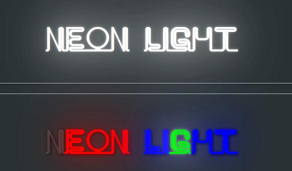 Neon effect plugin