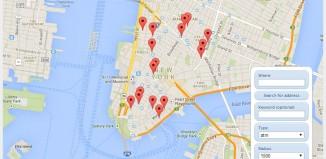 Google Places API – practice