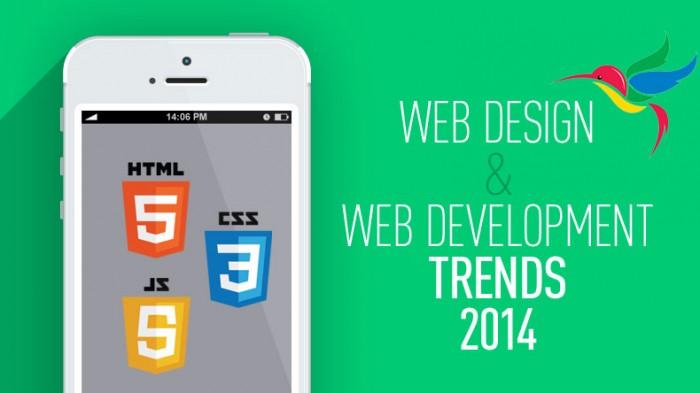Huge Web Design Trends for 2014
