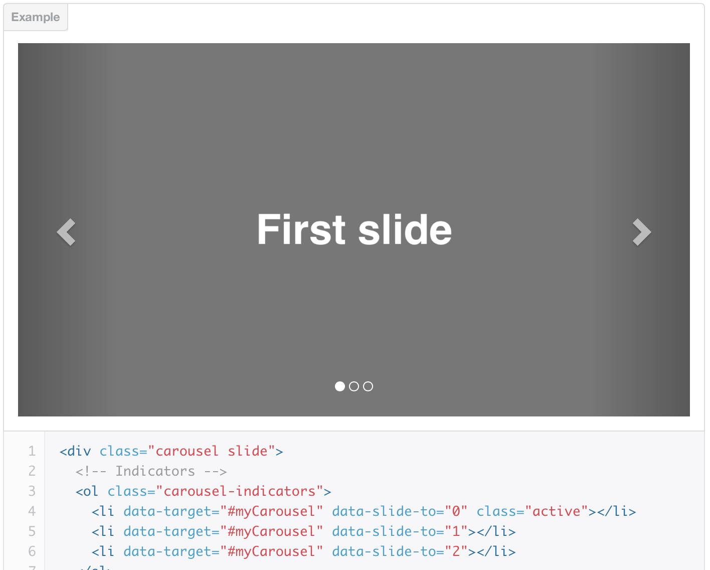 Creating a slider using twitter bootstrap 3 baditri Gallery