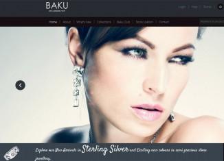 Baku template (free)