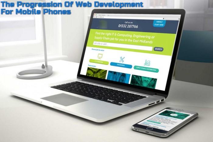 The Progression Of Web Development For Mobile Phones