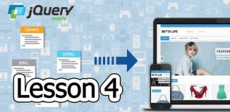 jQuery Mobile Lesson 4