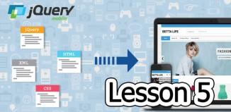 jQuery Mobile Lesson 5