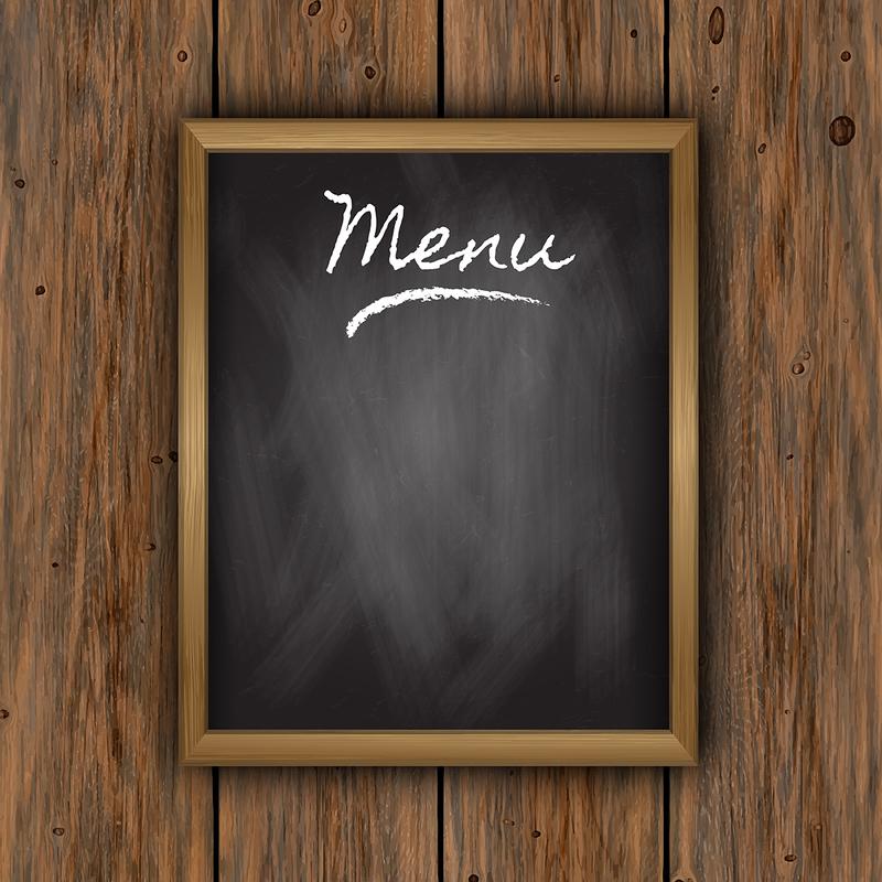 Developing menu for restaurant